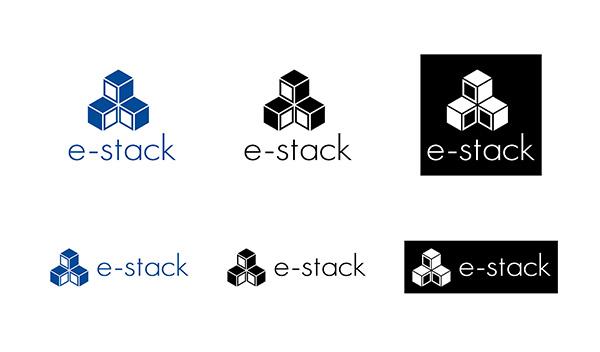 e-stack様 ロゴデザイン